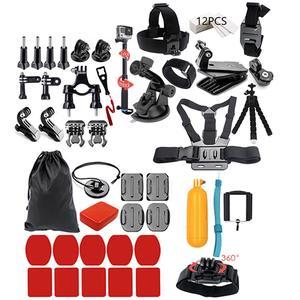 44in1 Camera Accessories Cam Tools for Outdoor Photography Cameras Protection Tool for Gopro Hero 5 4 3 2 1 Xiaomi Yi Xiaomi Yi 4 k SJCAM SJ4000 SJ5000 SJ6000 SJ7000 EKEN H9R H8W