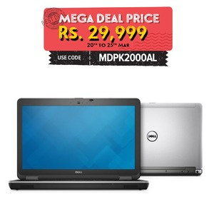 Dell LATITUDE 3440 14 Touchscren Display - Intel® Core i3 4th gen 4GB RAM - 250GB HDD - Windows® 7 & 10 (Activated) Refurbished