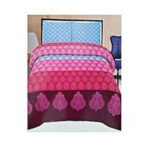 Ch.collectionMulticolor Cotton King Size Bedsheet ? 3 Pcs