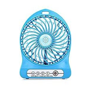 PakTroveUSB Rechargeable LED Fan Air Cooler