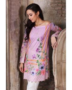 So Kamal Winter Collection  Purple Dobby Printed 1PC -Unstitched Shirt DPF18 519  EF01178-STD-LPR