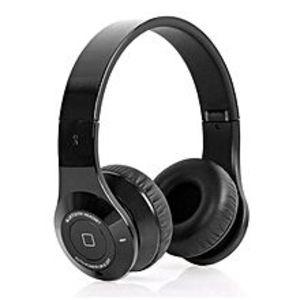 BLUEDIOB2 - Hi-Fi Wireless Bluetooth Deep Bass Headphones - Black