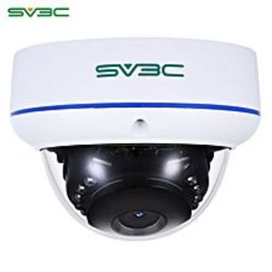 iShow PlusFull HD 1080P Dome POE Security Camera Indoor Outdoor Vandal-proof EU PLUG - White