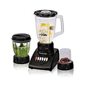 Cambridge ApplianceBL-2106 - Blender with Chopper and Dry Mill - 250W - Black