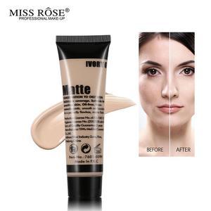 Miss Rose Liquid  Face Matte Concealer Foundation  – BEIGE 02