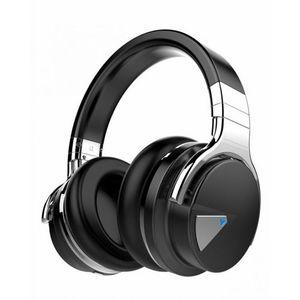 Wireless Bluetooth Over-ear Stereo Headphones - Black