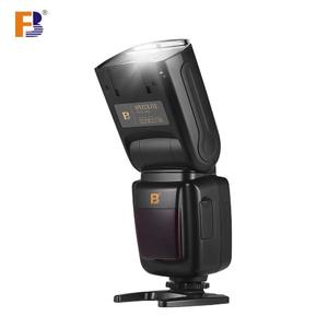 FB Professional Camera Flash Speedlite Speedlight Wireless 2.4G with Hot Shoe Mount Diffuser for Canon Sony Nikon Pentax SLR Cameras for Portrait Photography