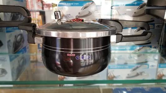 Chief Deep Black 5L & Kitchen King Grey 3L Pressure Cookers