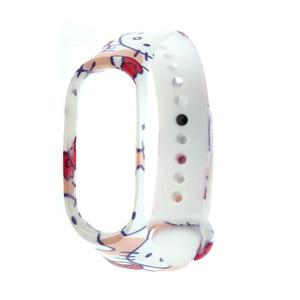 Heaven Light Soft Silicone Printed Watch Band Bracelet Wrist Strap for Xiaomi Mi Band 3