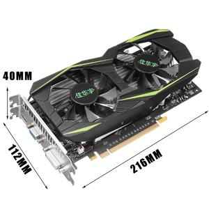 Intelligence GTX1050Ti 4GB D5 128Bit Game Video Graphics Card HDMI 2 Fan For NVIDIA GeForce
