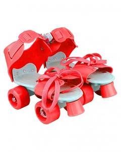 Pair of Skates for kids - Adjustable - Red
