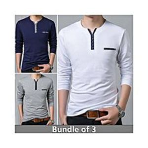 super bazar Pack of 3 T-Shirt's