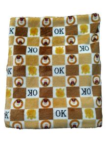 Baby  All Over Printed Baby Wrapping Shawl Winter 77 X 92 Cm
