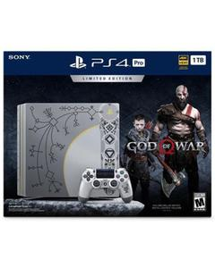 PS4 Pro 1TB Limited Edition Console - God of War Bundle - Leviathan Gray