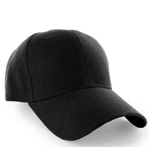 Simple Sun-Protection Plain Baseball Cotton Adjustable Caps And Hats