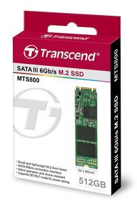 TRANSCEND 512GB SSD MTS-800