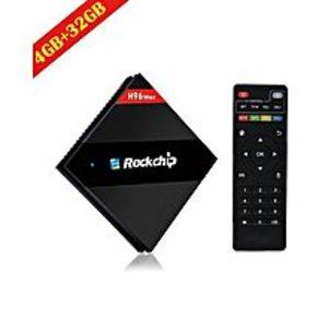 SMART GADGETSH96 Max - Hexa Core 4K Tv Box 4Gb/32Gb Type-C Usb3.0 Supported - Black