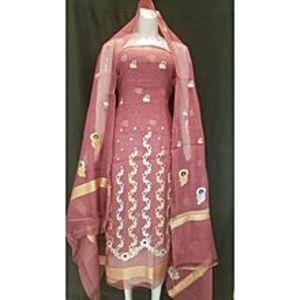 Banaras FashionShirt Dupatta Khadi SP for Women for Women - T-pink