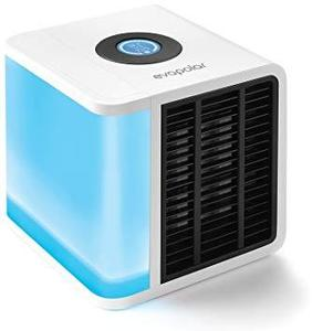 Mini Air Cooler Mobile Air Conditioner Arctic Air Air Conditioner Evaporative Cooler Portable Air Conditioner with Water Cooling Humidifier and Air Purifier Portable table