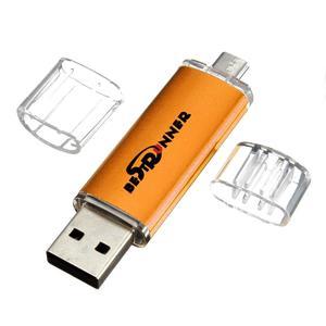 BESTRUNNER 2GB USB 2.0 Bright Flash Memory Stick for OTG Phone Wholesale
