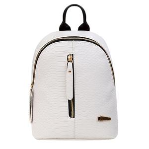 Fashion Women PU Leather Pattern Backpack Luxury School Bag Travel Backpack
