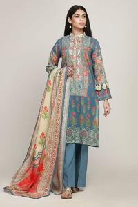 Khaadi Early Spring/Summer Un-Stitched Replica Lawn Dress for Women