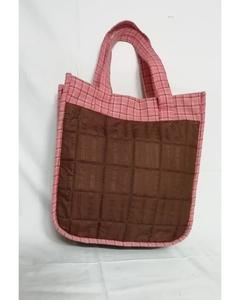Ladies Cotton Handbags - Brown