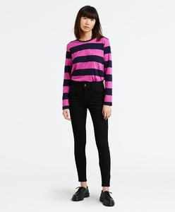 Levi's 720 HiRise Super Skinny Blackest Night Jeans Women 52797-0022