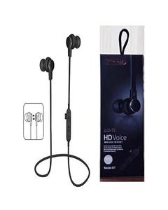 Inspired Mst1 Magnetic Bluetooth Handfree With Tf Card Support - Black
