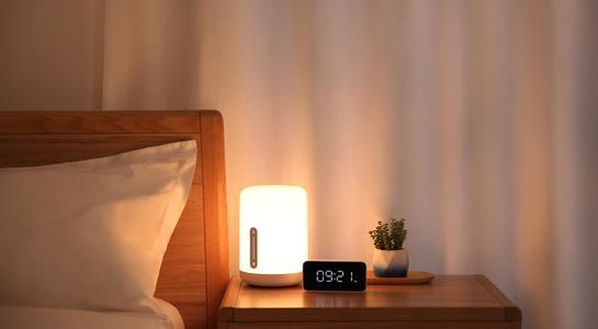 Original Xiaomi Mijia Mi Bedside Lamp 2 Smart LED Night Light Dimmable Colorful Sleep Smart Light Voice Control Touch Switch Mi Home App LED Bulb for Apple Homekit Siri
