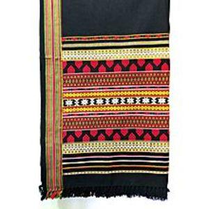 Narmo GudazRed Handmade Tharri / Wadera Shawl for Unisex