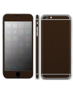 IPhone 6 & 6s Skin Protector - Brown Leather