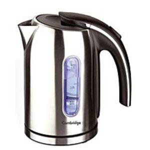 Cambridge ApplianceCA Electric Tea Kettle - SK9719 - Silver