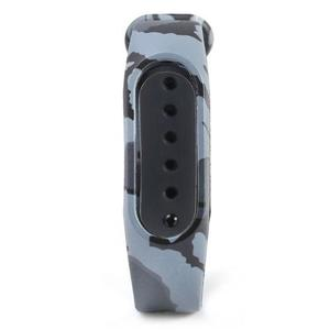 Camouflage Pattern Watch Band For Mi Band 2 - Gray