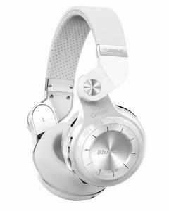 T2+ Turbo - Wireless Bluetooth Stereo Headphones with Mic & SD Card Options - White
