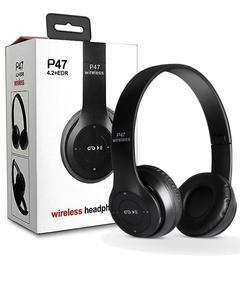 P47 - Foldable Bluetooth Wirless Headset - White