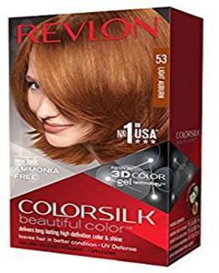 Color Silk 3D Technology USA For Men and Women No 53 Light Auburn