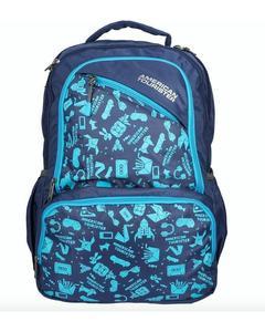 Pack of 2 - At Doodle I Backpack + Pencil Case - Ind Blue