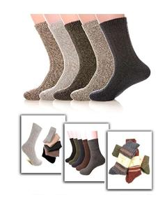 Long Warm Winter Socks By SIK Collection (Pack Of 12)