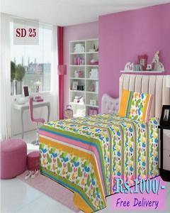 Single Bed Sheet Sd 25