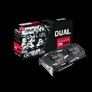 AS.US Dual series Radeon RX 580 OC edition 8GB GDDR5 for best eSports and 4K gaming without Box