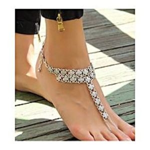 The Marshall Golden Alloy Anklet for Women