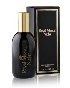 Royal Mirage Night For Men 120ml - Eau De Cologne - Black