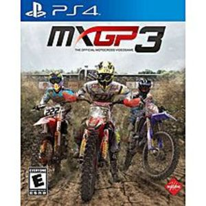 SonyMXGP 3: The Official Motocross Videogame - PlayStation 4