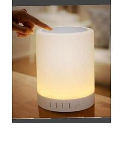 Music Lamp With Bluetooth Speaker And Touch Sensor Multicolor Portable Night Light