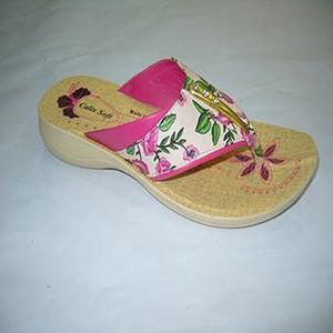 Floral Pink Rexiene Slipper For Women