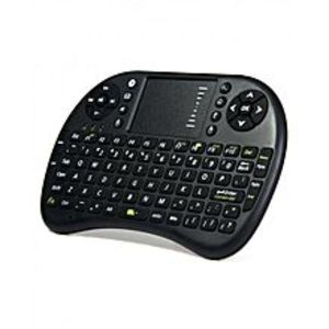 H &Co Mini Touch Pad Rf 500 Wireless Keyboard Mouse - Black