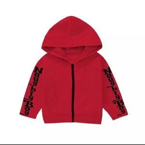 Multicolours Printed Winter Fleece Hoodies for Kids