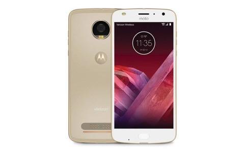 Motorola Moto Z2 Play Single Sim 32GB Fine Gold SmartPhone