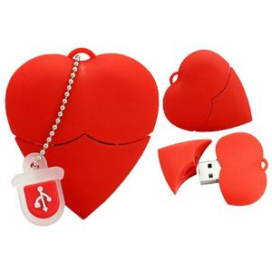Red Heart USB Flash Pen drive Driver 4,GB 8,GB 16,GB 32,GB 64,GB